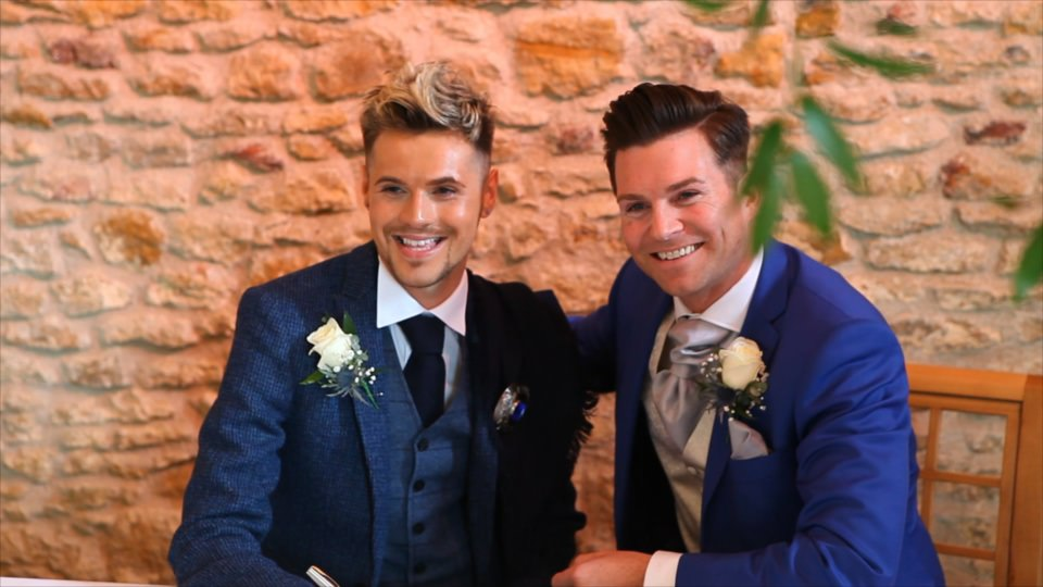 Make Gay Couple getting married in civil ceremony at Dodford Manor